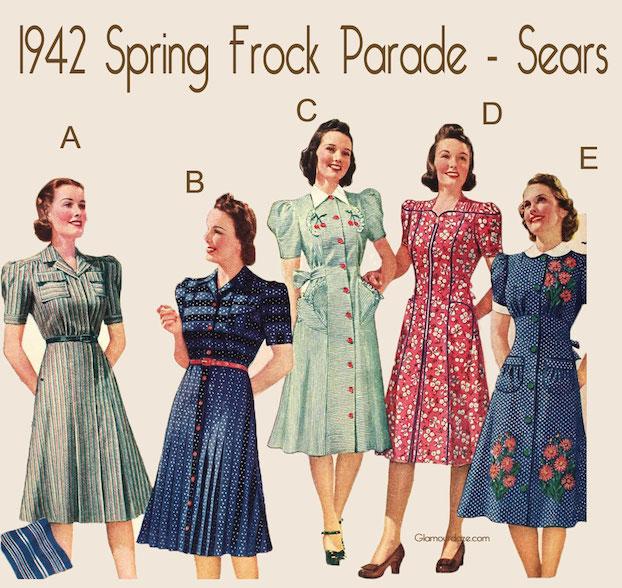 Vintage 1940's Dresses Still Look Fabulous To Me - Not Dead Yet Sty