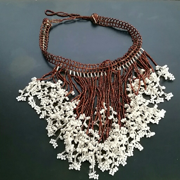 African Jewelry | Style Beaded Necklace Os | Poshma