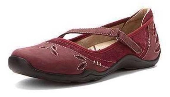 Ahnu Shoes | Gracie Pro Mary Jane In Redmahogany | Poshma