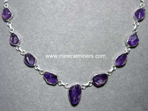 Amethyst Jewelry: natural amethyst jewel