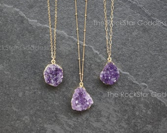Jewelry raw amethyst | Et