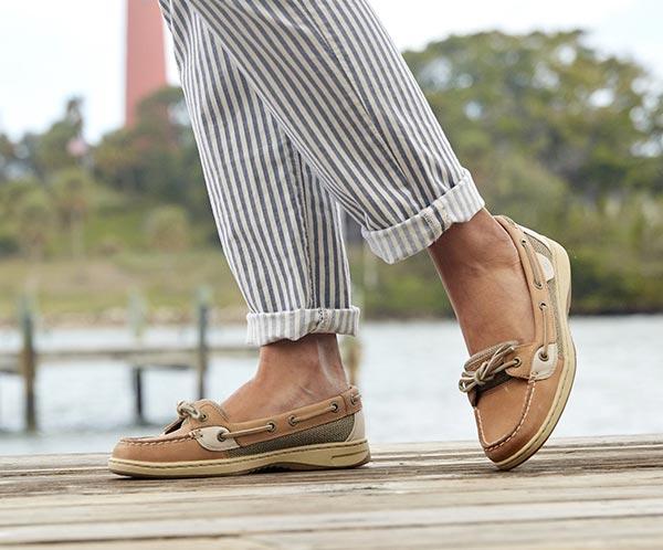 Shop Women's Angelfish Slip-On Boat Shoes | Sper