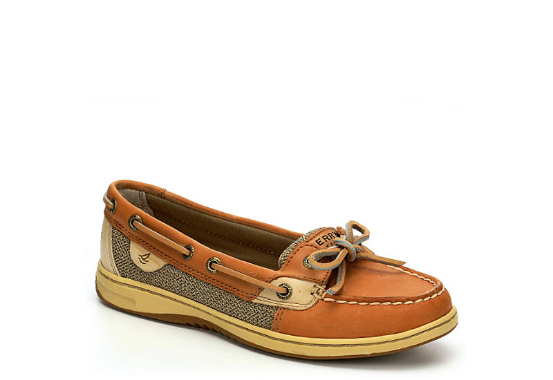 Tan Sperry Angelfish Women's Leather Boat Shoes | Rack Room Sho