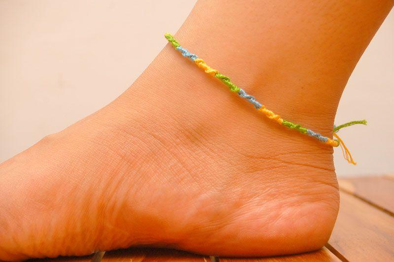 Make Ankle Bracelets | Ankle bracelets, Anklet designs, Bracelet .