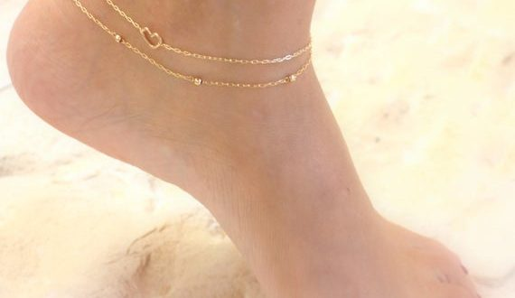 Layered Gold Anklets Chain Ankle Bracelets Dainty Gold | Et