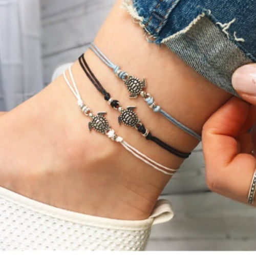Bohemian Turtle Anklet Ankle Bracelet– Fashion Hut Jewel