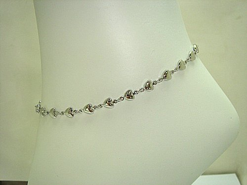 Jewelry Anklets: Anklet Bracelet Fashion Jewelry - Silver Tone .