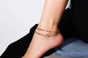 Fashion Statement Vintage Gold Anklet Designs Anklets G80729 .