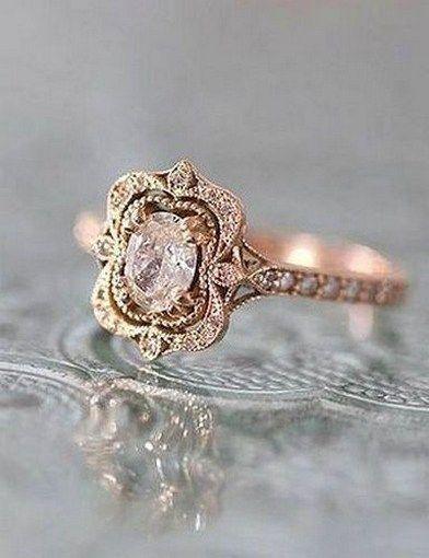100 Antique And Unique Vintage Engagement Rings (120) | Vintage .