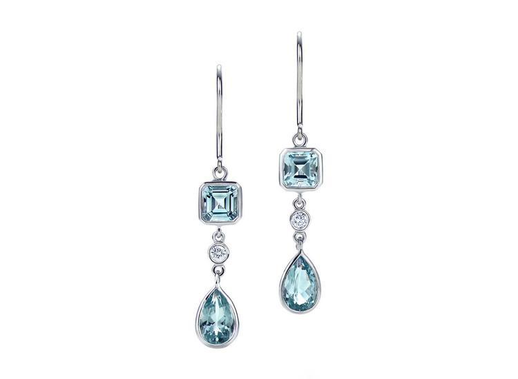Aquamarine Earrings – Krista
