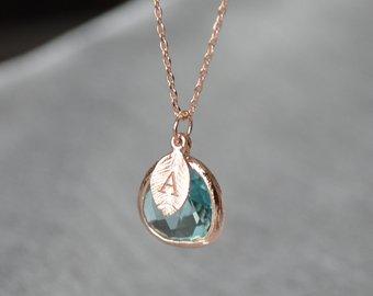 Aquamarine necklace | Et
