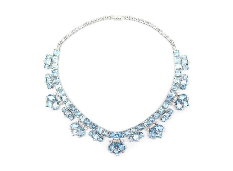 Aquamarine Necklace – Krista