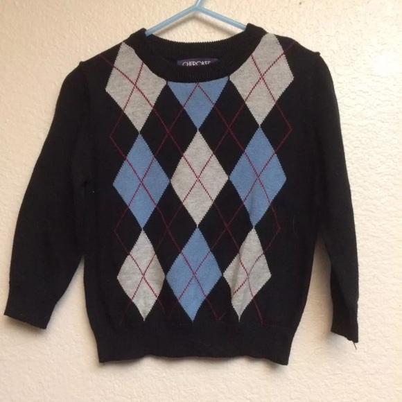 Cherokee Shirts & Tops | Argyle Sweater 18 Months | Poshma