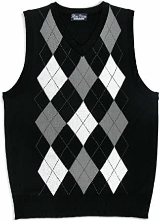 Amazon.com: BLUE OCEAN Kids Argyle Sweater Vest: Clothi