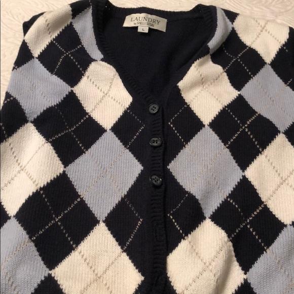 Laundry By Shelli Segal Sweaters | Argyle Sweater Vest | Poshma