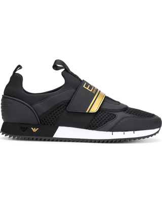 2020 Sales on Ea7 Emporio Armani runner sneakers - Bla