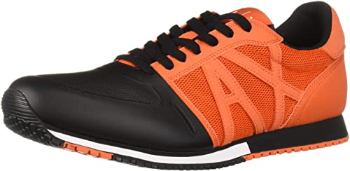 Amazon.com: A|X Armani Exchange Men's Lace Up Sneaker with Logo: Sho