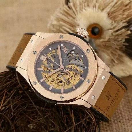 Replica Hublot Big Bang Skeleton Automatic Watch Hub090 .
