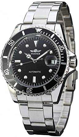 Amazon.com: Mens Automatic Watches Winner Luxury Brand Full .