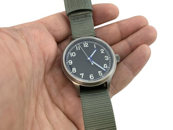 Titanium Field Automatic Watch + Sapphire Back by Marat