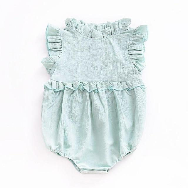 Baby Girl Dress Newborn Baby Clothes Cute Draped Neck Infant Girls .