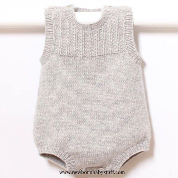 Baby Knitting Patterns Baby Knitting Patterns 41 / Baby Romper .