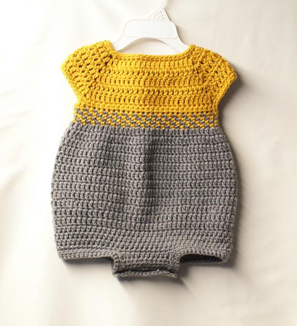 Ravelry: Baby Romper Outfit pattern by Jennifer Lyn
