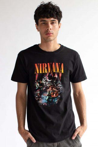 Nirvana Live Photo Band Tee - Ragsto