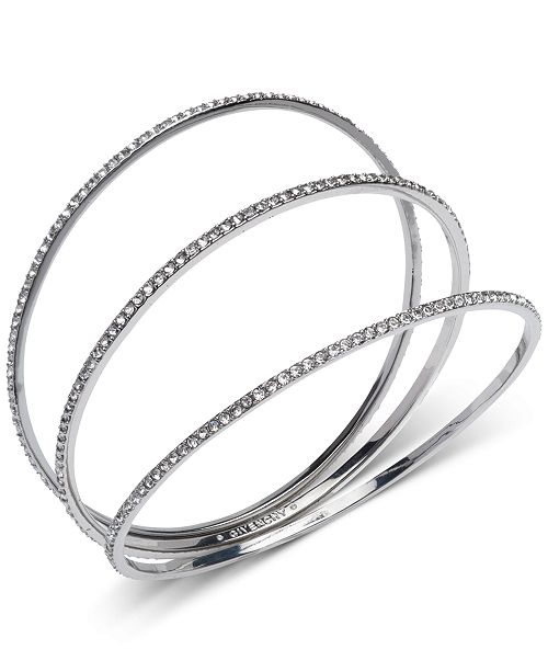 Givenchy 3-Pc. Pavé Bangle Bracelets Set & Reviews - Fashion .