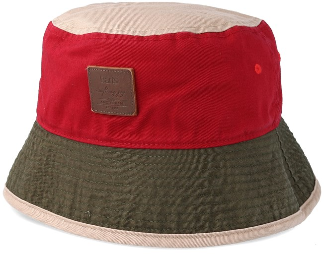 Hike Hat Burgundy Red Bucket - Barts hats - Hatstoreworld.c