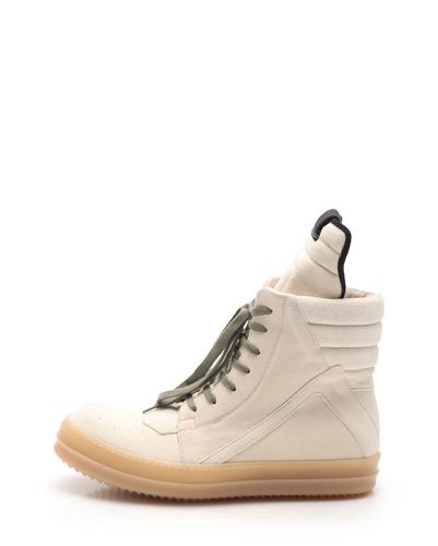 Rick Owens DRKSHDW GEOBASKET Geo basket High-top sneakers suede .