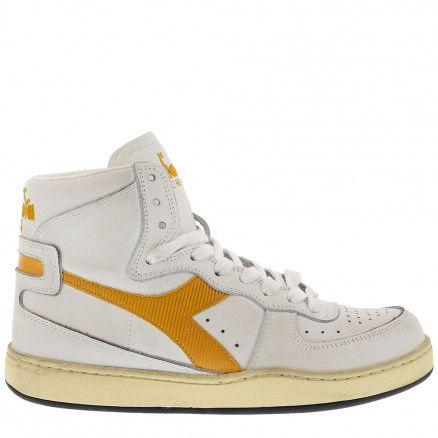 Diadora sneakers Mi Basket wit/geel in 2020 - Schoenen, Tassen en .