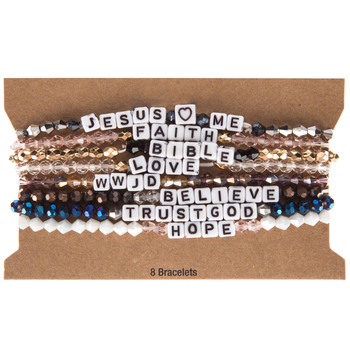 Faith Words Beaded Bracelets | Hobby Lobby | 15812