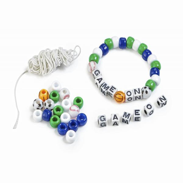 Game On Beaded Bracele