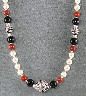 new beaded necklace designs | Free Necklace Designs Made with Wire .