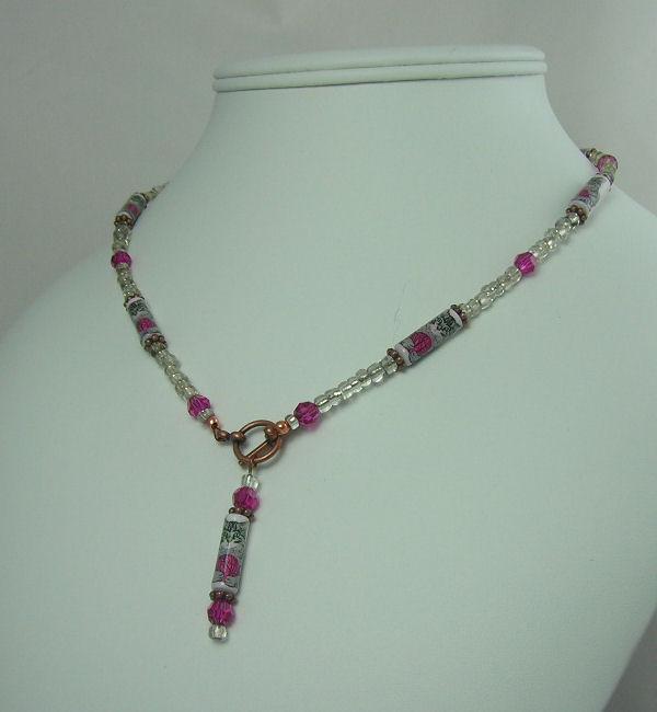 Pretty Paper Bead Jewelry Desig
