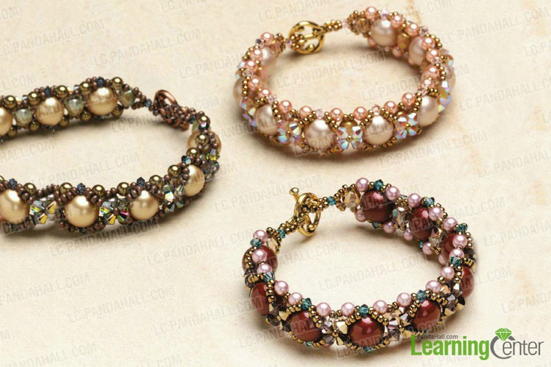 Beaded Jewelry Design Ideas- Make a Beaded Bracelet out of Pearls .