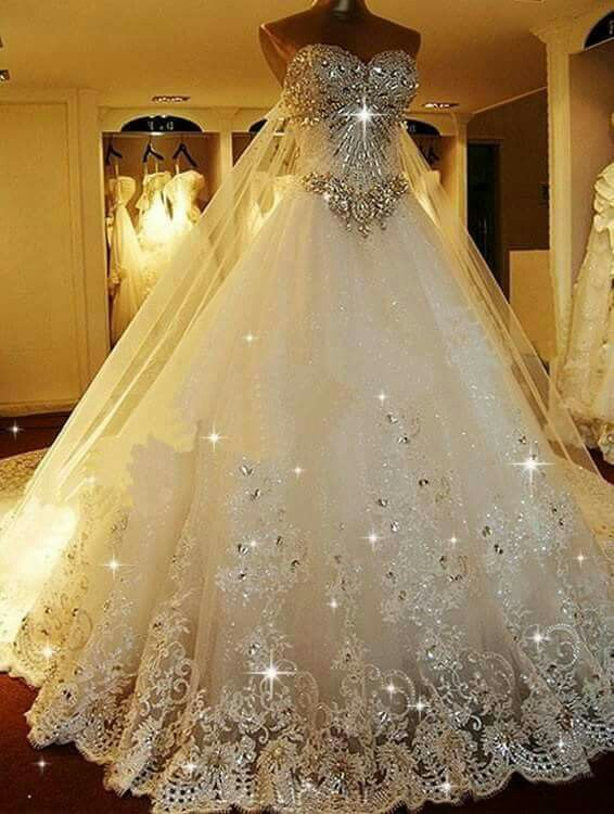 This is the most beautiful wedding dress I have ever seen... I .
