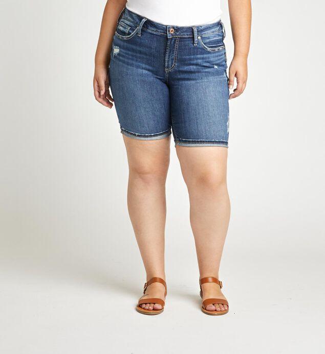 Women's Plus Size Shorts & Skirts | Silver Jeans C