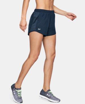 Women's Navy Running Shorts | Under Armour