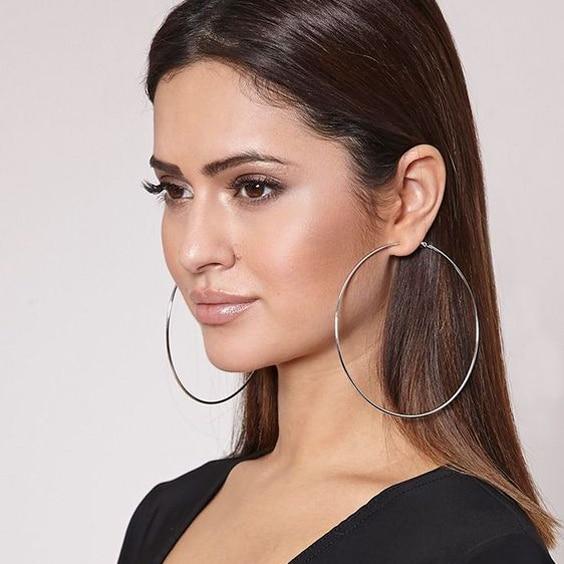 Artilady silver hoop earrings big hoop earrings for women endless .