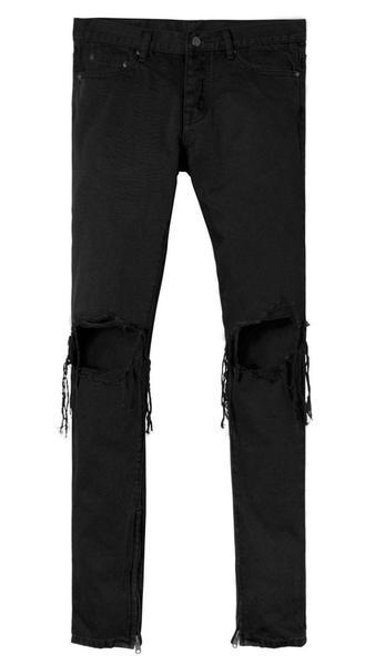 M1 Zipper Denim - Black | mnml | shop n