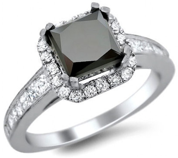 Black Diamond Engagement Rings - Engagement Rings Wi