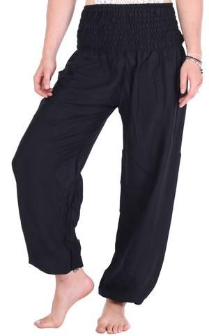Black Harem Pants for Women by One Tribe Appar