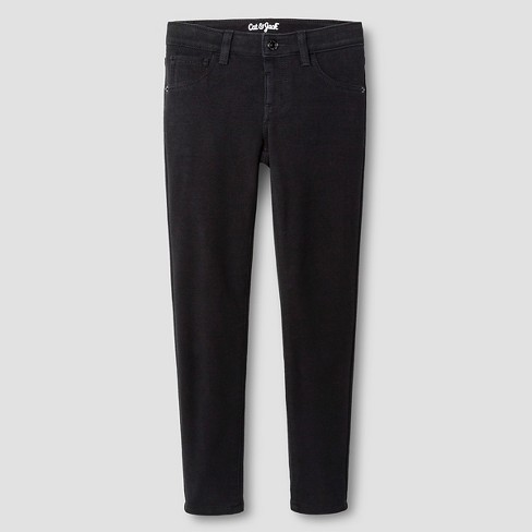 Girls' Soft Jeggings - Cat & Jack™ Black : Targ