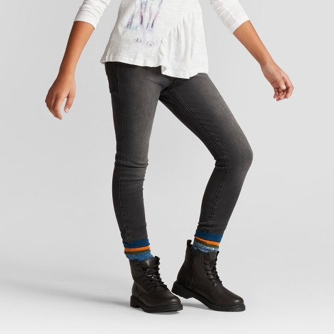 Girls' Jeggings - Cat & Jack™ Black : Targ