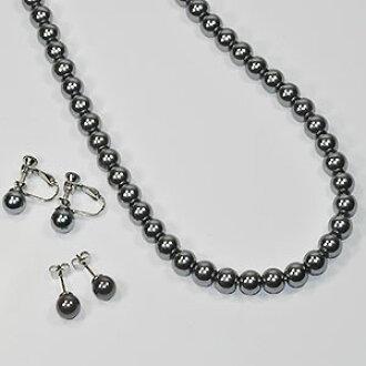 iyashigoods: Black pearl black pearl necklace & pierced .