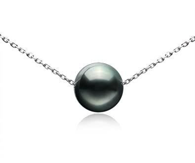 Amazon.com: Tahitian Cultured Single Black Pearl 9-10mm 925 .