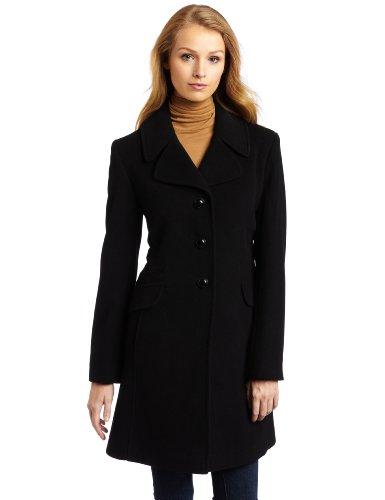 wool winter coats for women on sale: Larry Levine Women's Classic .