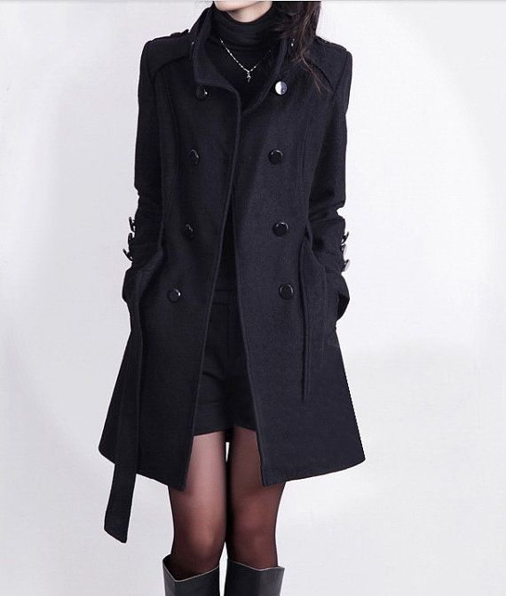 Why you should get black wool coat for women - StyleSkier.c